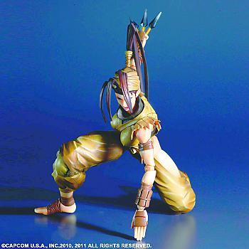 Super Street Fighter IV Play Arts Kai Action Figure - Ibuki