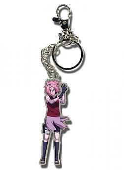 Naruto Shippuden Key Chain - Metal Sakura Gloves On