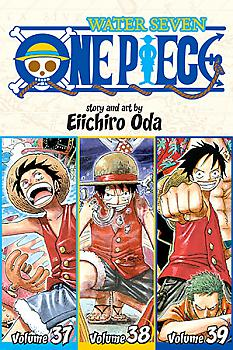One Piece Omnibus Manga Vol.  13: Gold Rush (Vol. 37-38-39)