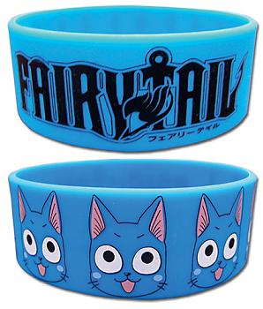 Fairy Tail Wristband - Happy and Logo