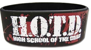 High School of the Dead Wristband - Logo