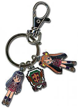 Negima Key Chain - Metal Group #1