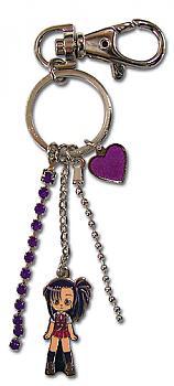 Negima Key Chain - Setsuna with Charms