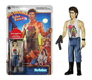 Big Trouble In Little China ReAction 3 3/4'' Retro Action Figure - Jack Burton
