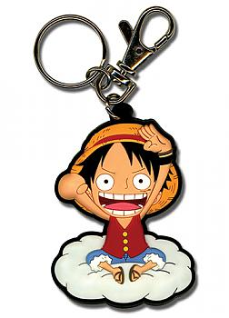 One Piece Key Chain - Luffy on Cloud
