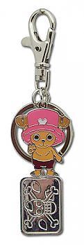 One Piece Key Chain - Metal Chibi Chopper