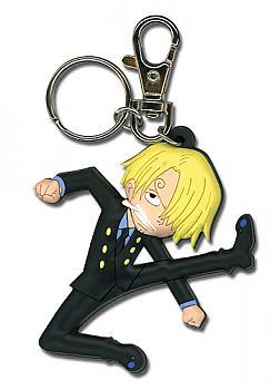 One Piece Key Chain - Sanji Kick