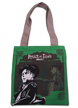 Attack on Titan Tote Bag - Levi Green