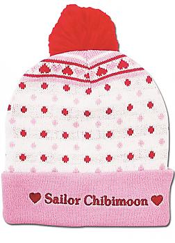 Sailor Moon Beanie - Chibimoon Pom