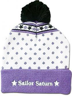 Sailor Moon Beanie - Sailor Saturn Pom