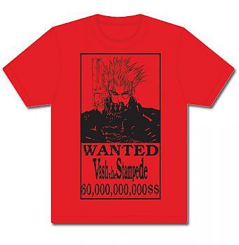 Trigun T-Shirt - Vash Wanted (XXL)