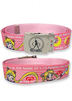 Sailor Moon Fabric Belt - I'll Punish You