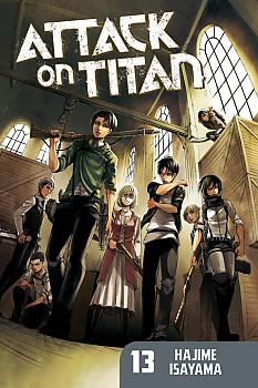 Attack on Titan Manga Vol.  13