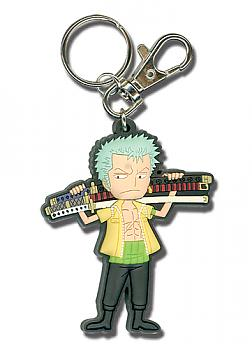 One Piece Key Chain - SD Zoro with Sword