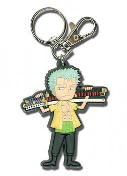 One Piece Key Chain - SD Zoro with Sword