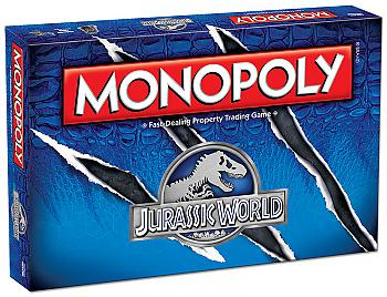 Jurassic World Board Games - Monopoly Collector's Edition