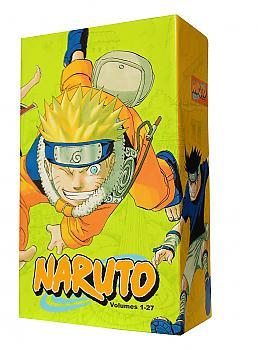 Naruto Manga Box Set - Collection 1 Vol. 1-27 w/ Premium