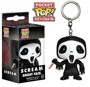 Scream Pocket POP! Key Chain  - Ghostface