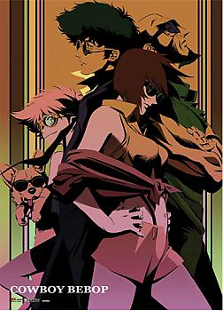 Cowboy Bebop Wall Scroll - Group Stylized