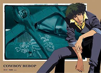 Cowboy Bebop Wall Scroll - Spike & Swordfish II [LONG]