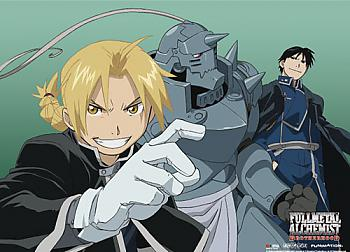 FullMetal Alechmist Brotherhood Wall Scroll - Ed Al Roy [LONG]
