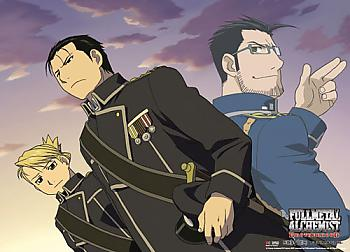 FullMetal Alechmist Brotherhood Wall Scroll - Roy Riza Maes [LONG]