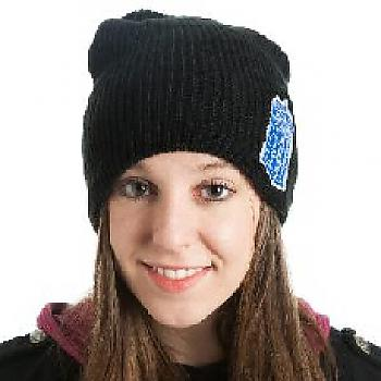 Doctor Who Beanie - Tardis Patch Slouch