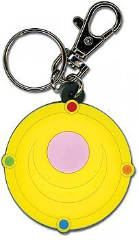 Sailor Moon Key Chain - Moon Brooch