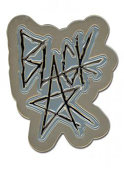 Soul Eater Belt Buckle - Black Star Logo
