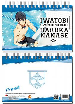 Free! Notebook - Haruka at Pool Hardcover