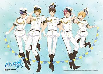 Free! Wall Scroll - Group Navy Uniform [LONG]
