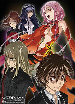 Guilty Crown Wall Scroll - Group