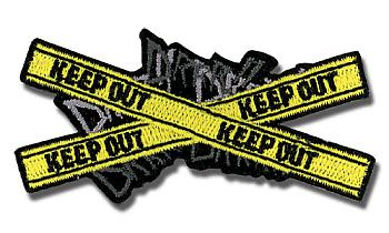 Durarara!! Patch - KEEP OUT