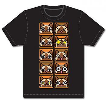 Monster Hunter T-Shirt - Airou Moods (S)
