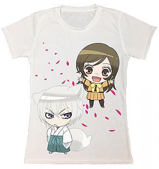 Kamisama Kiss T-Shirt - Nanami Tomoe Petals Sublimation Juniors (L)