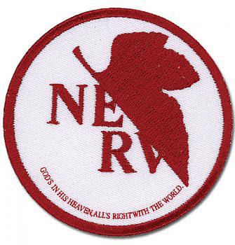 Evangelion Patch - NERV Logo