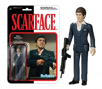 Scarface ReAction 3 3/4'' Retro Action Figure - Tony Montana
