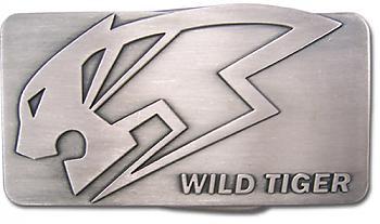 Tiger & Bunny Belt Buckle - Wild Tiger Logo