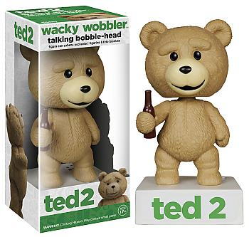 Ted Movie 2 Wacky Wobbler - Talking Ted