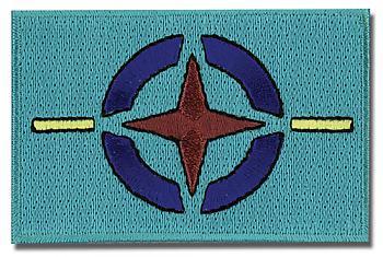 Gundam 00 Patch - AEU Flag