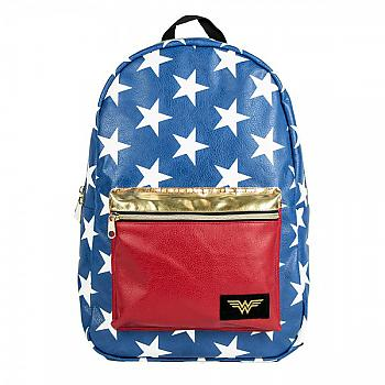 Wonder Woman Backpack - Wonder Woman PU Applique
