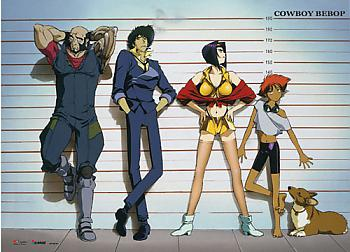 Cowboy Bebop Wall Scroll - Team Line-Up [LONG]