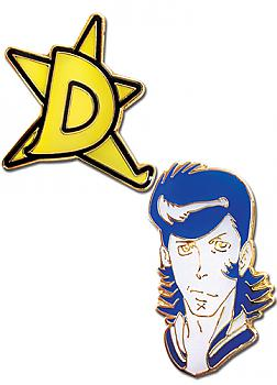 Space Dandy Pins - Dandy with D-Star