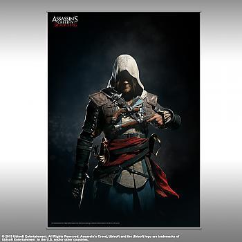 Assassins Creed IV - Vol. 2 Wall Scroll - Edward Kenway Shadows (Black Flag)
