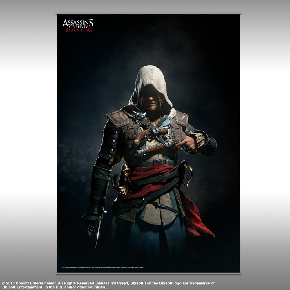 Assassins Creed Iv Vol 2 Wall Scroll Edward Kenway Shadows