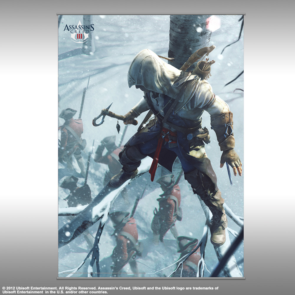 Assassins Creed 3 Vol 2 Wall Scroll Connor Hidden Archonia Us