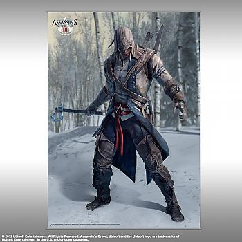 Assassins Creed 3 - Vol. 1 Wall Scroll - Connor Pose