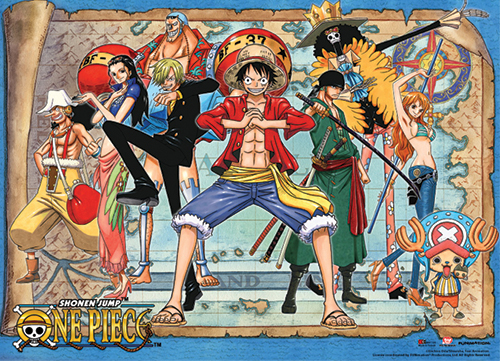 One Piece Premium Wall Scroll   New World ...
