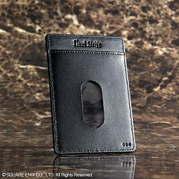 Final Fantasy Advent Children Card Case - Cloud Cloudy Wolf Leather (Business)