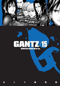 Gantz Manga Vol.  15